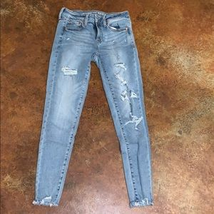 American Eagle jeans (worn once)